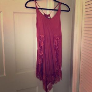 Free People lace detail dress